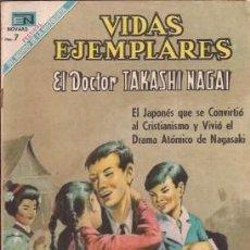 Tebeos: VIDAS EJEMPLARES Nº 298, EL DOCTOR TAKASHI NAGAI, DE 1969. Lote 50851325