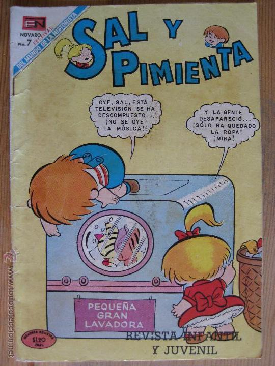 SAL Y PIMIENTA - NOVARO Nº56 (Tebeos y Comics - Novaro - Otros)