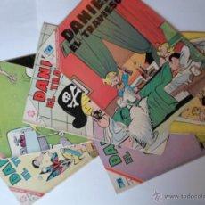 Tebeos: LOTE 6 COMICS DE DANIEL EL TRAVIESO - NOVARO - AÑOS 60. Lote 51039107