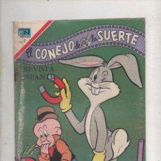 Tebeos: EL CONEJO DE LA SUERTE Nº 327. NOVARO 1970.DA . Lote 51050942