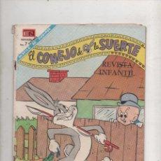 Tebeos: EL CONEJO DE LA SUERTE Nº 287. NOVARO 1968.DA . Lote 51051256
