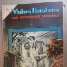 VIDAS ILUSTRES # 6 LOS HERMANOS LUMIERE CINE NOVARO MEXICO 1956