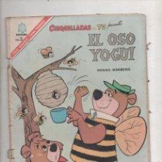 Tebeos: CHIQUILLADAS EN TV .EL OSO YOGUI.Nº197.NOVARO 1967.DA. Lote 51247459