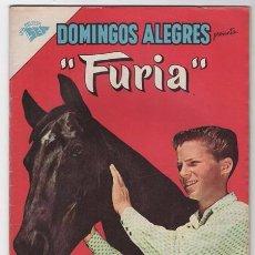 Tebeos: DOMINGOS ALEGRES # 451 FURIA NOVARO 1962 IMPECABLE ESTADO. Lote 51323762