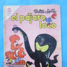 Tebeos: EL PAJARO LOCO , N.259 , EDITORIAL NOVARO 1964. Lote 51387671