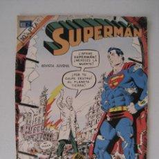 Tebeos: SUPERMAN - Nº 937 - 7 NOVIEMBRE 1973 - NOVARO.. Lote 181477843