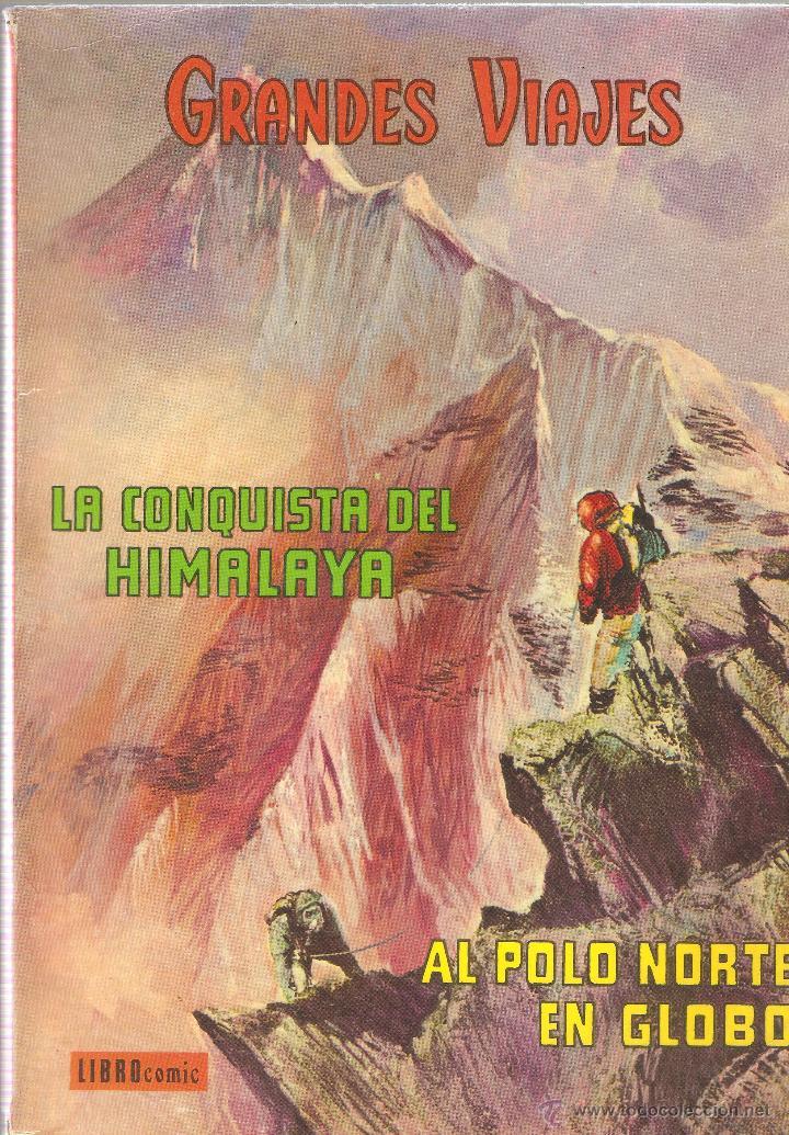 LIBRO COMIC - GRANDES VIAJES - TOMO V - EDITORIAL NOVARO - 1973. (Tebeos y Comics - Novaro - Grandes Viajes)