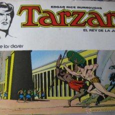 Tebeos: TARZÁN. EL REY DE LA JUNGLA. EDGAR RICE BURROUGHS. Nº 1. LA CUNA DE LOS DIOSES.. Lote 51772010
