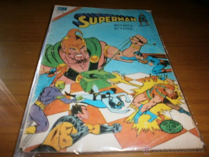 SUPERMAN - SERIE AGUILA - AÑO XXV - Nº 2-1103 - 4 DE MAYO DE 1977. (Tebeos y Comics - Novaro - Superman)