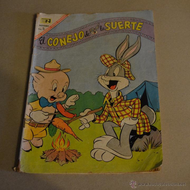 EL CONEJO DE LA SUERTE, Nº 263. NOVARO 1967. LITERACOMIC. (Tebeos y Comics - Novaro - El Conejo de la Suerte)