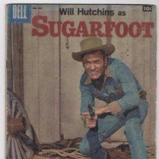 Tebeos: DELL # 907 IGUAL DOMINGOS ALEGRES # 336 SUGARFOOT WILL HUTCHINS 1958 PIES DE PLATA INGLES BUEN ESTAD. Lote 52300530