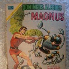Livros de Banda Desenhada: MAGNUS DOMINGOS ALEGRES # 856 NOVARO MEXICO 1970. Lote 52143891