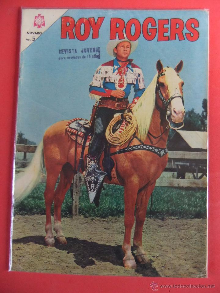 ROY ROGERS Nº 152 NOVARO (Tebeos y Comics - Novaro - Roy Roger)