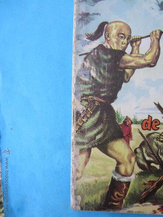 Tebeos: epopeya numero 22 - la juventud de gengis khan . novaro 1960 - Foto 6 - 52417659