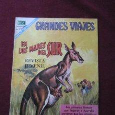 Livros de Banda Desenhada: GRANDES VIAJES Nº 70. EN LOS MARES DEL SUR. ED. NOVARO, 1968. TEBENI. Lote 52530587