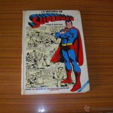 Tebeos: LA HISTORIA DE SUPERMAN DE NOVARO . Lote 52551540
