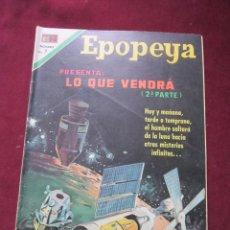 Tebeos: EPOPEYAS Nº 147. LO QUE VENDRÁ (2ª PARTE). ED. NOVARO, 1970. TEBENI. Lote 52558232