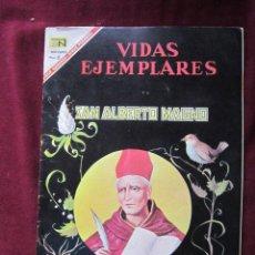 Tebeos: VIDAS EJEMPLARES Nº 241. SAN ALBERTO MAGNO. EDITORIAL NOVARO, 1967. MEXICO. Lote 38840699