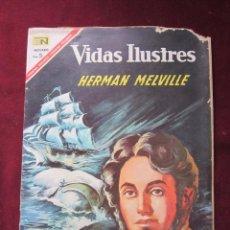 Tebeos: VIDAS ILUSTRES Nº 162. HERMAN MELVILLE 1964. NOVARO. TEBENI.. Lote 52599513