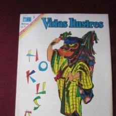 Tebeos: VIDAS ILUSTRES Nº 159 HUKASAI 1967. NOVARO. TEBENI. MBE. Lote 52599612