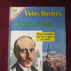 Tebeos: VIDAS ILUSTRES Nº 153. ROMAIN ROLLAND 1967. NOVARO. TEBENI.. Lote 52599715