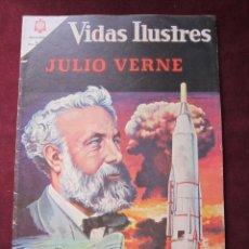Tebeos: VIDAS ILUSTRES Nº 131 JULIO VERNE 1966. NOVARO. TEBENI.. Lote 52599859