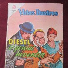 Tebeos: VIDAS ILUSTRES Nº 105. DIESEL, EL GENIAL INVENTOR 1964. NOVARO. TEBENI.. Lote 52599968