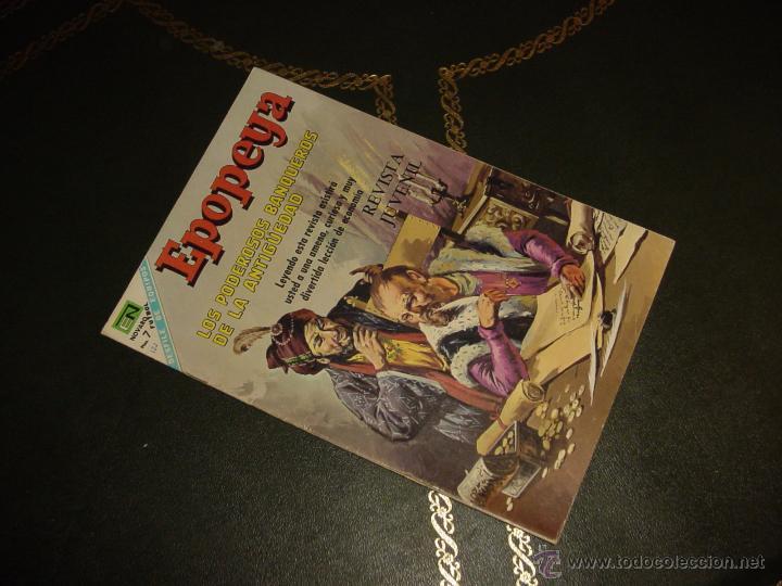 EPOPEYA (NOVARO) ... Nº 122 (Tebeos y Comics - Novaro - Epopeya)