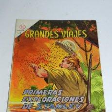 Tebeos - GRANDES VIAJES N. 16 - PRIMERAS EXPLORACIONES DE STANLEY - EDITORIAL NOVARO - AÑO 1964. - 52876577