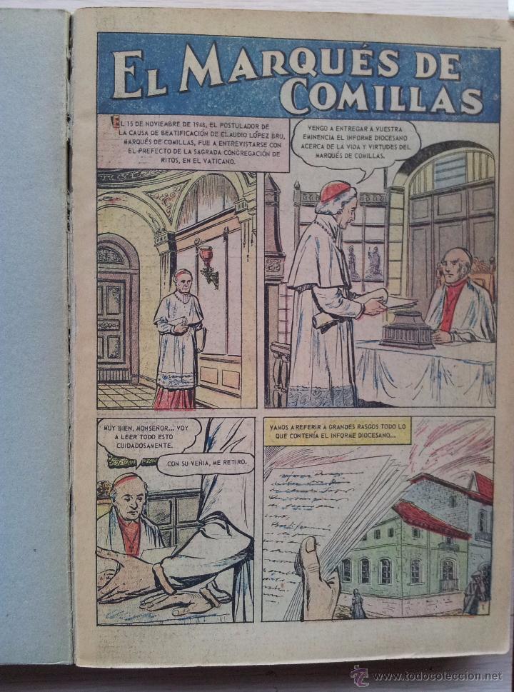 Tebeos: VIDAS EJEMPLARES - TOMO CON 14 REVISTAS ENCUADERNADO - EDITORIAL NOVARO 1966/70 - Foto 2 - 52922287