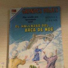 Tebeos: ANTIGUO COMIC DE NOVARO GRANDES VIAJES Nº 91 AÑOS 70 ORIGINAL *. Lote 52975491