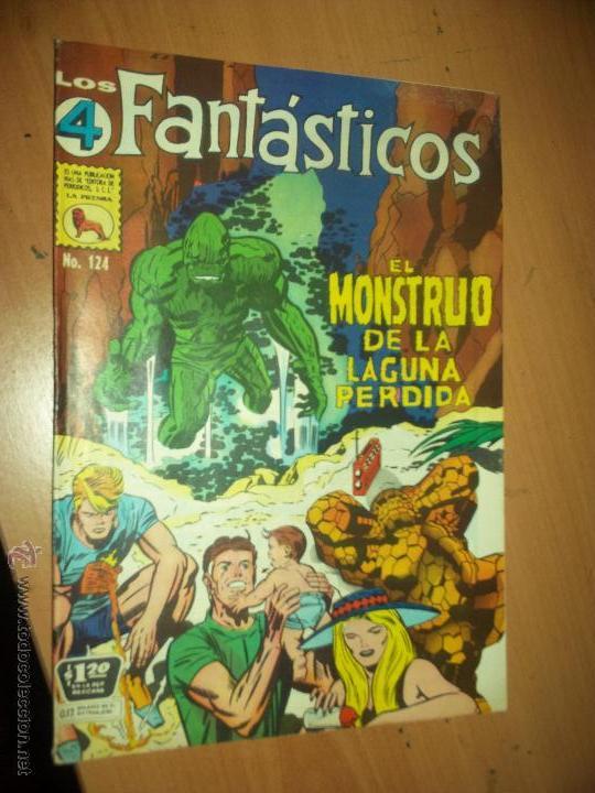 LOS 4 FANTASTICOS LA PRENSA MEXICANA 124 EL MONSTRUO DE LA LAGUNA (Tebeos y Comics - Novaro - Otros)