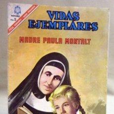 Tebeos: COMIC, VIDAS EJEMPLARES, Nº 235, 1966, MADRE PAULA MONTALT, NOVARO. Lote 53117366