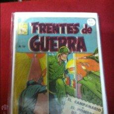 BDs: FRENTES DE GUERRA NUMERO 114 NORMAL ESTADO REF.30. Lote 53325325