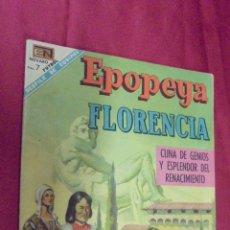 BDs: EPOPEYA. FLORENCIA. Nº 127. . NOVARO. 1964. . Lote 53405412
