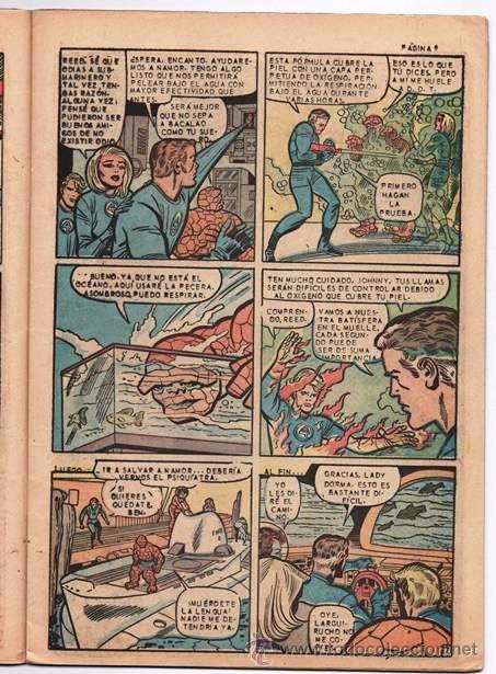 Tebeos: LOS 4 FANTASTICOS # 52 LA PRENSA 1965 KIRBY STAN LEE 1er APARICION DE ATTUMA SUBMARINERO NAMOR EXCEL - Foto 5 - 53515753