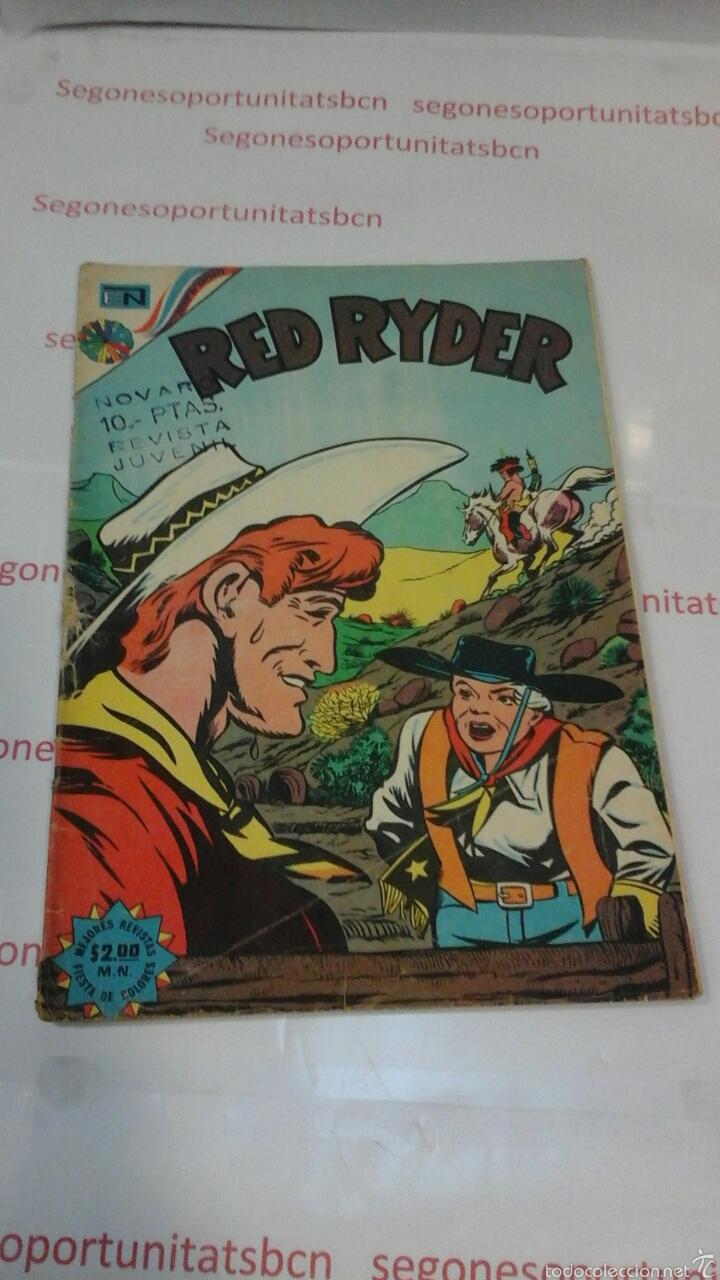 RED RYDER - N°318 - 1973 - NOVARO (Tebeos y Comics - Novaro - Red Ryder)