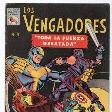 Tebeos: LOS VENGADORES # 72 LA PRENSA 1967 CAPITAN AMERICA JACK KIRBY STAN LEE IMPECABLE. Lote 53551315