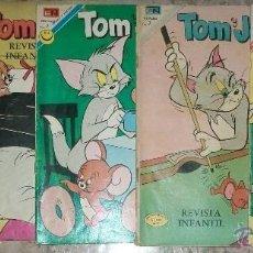 Tebeos: NOVARO TOM Y JERRY (LOTE DE 11 NUMEROS). Lote 53674142