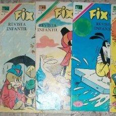 Tebeos: NOVARO FIX Y FOXI (LOTE DE 7 NUMEROS DIFERENTES). Lote 53674356