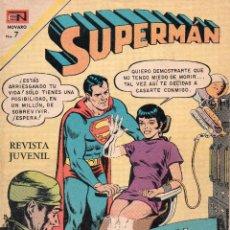 Tebeos: SUPERMAN NOVARO Nº -833-852-865-894-972. Lote 53703884