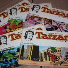 Tebeos: TARZAN DE RUSS MANNING NUMEROS Nº1, Nº2 Nº3, Nº 4 Y Nº5 ( GRAN FORMATO).. Lote 53810812