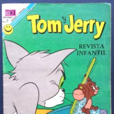 Tebeos: TOM Y JERRY Nº 344 REVISTA INFANTIL EDITORIAL NOVARO 1972 AÑOS 70 . Lote 54007924