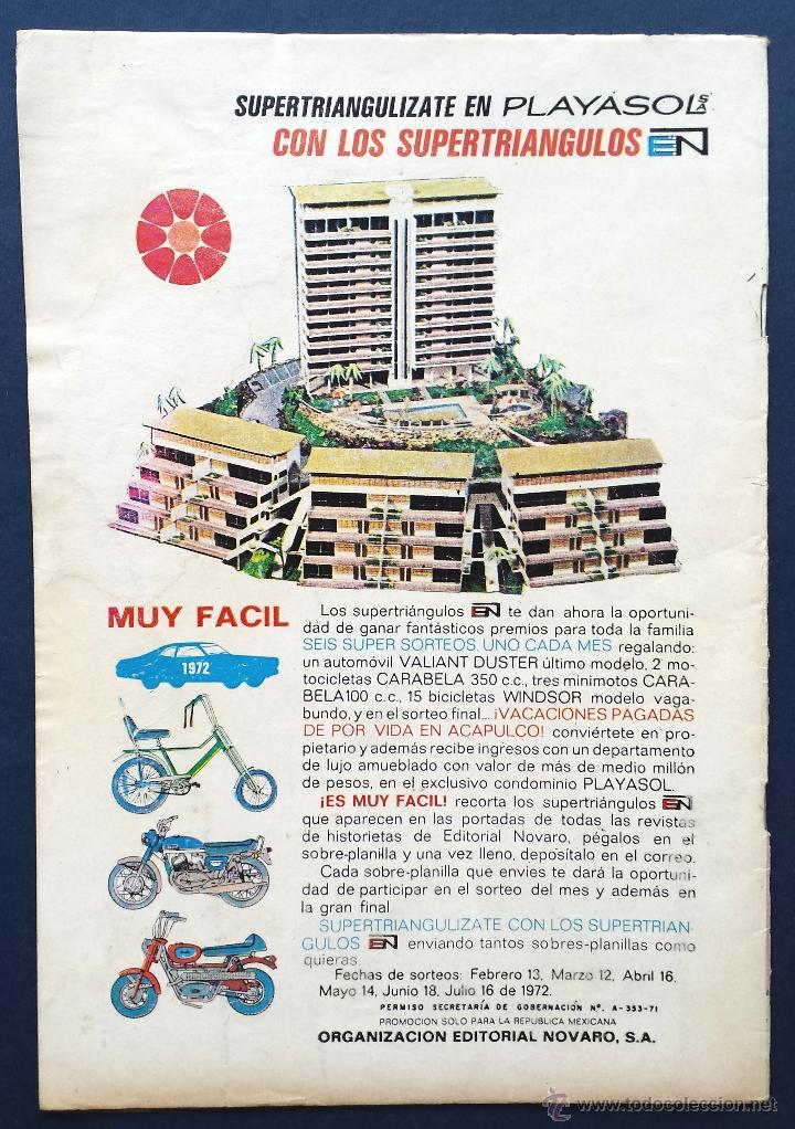 Tebeos: TOM Y JERRY nº 346 Revista Infantil Editorial Novaro 1972 Años 70 - Foto 2 - 54007953