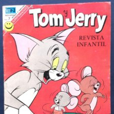 Tebeos: TOM Y JERRY Nº 338 REVISTA INFANTIL EDITORIAL NOVARO 1972 AÑOS 70 . Lote 54008020