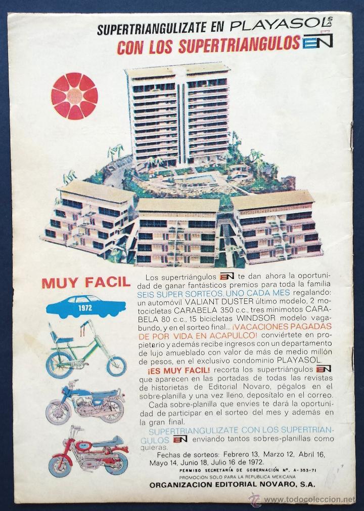 Tebeos: TOM Y JERRY nº 338 Revista Infantil Editorial Novaro 1972 Años 70 - Foto 2 - 54008020
