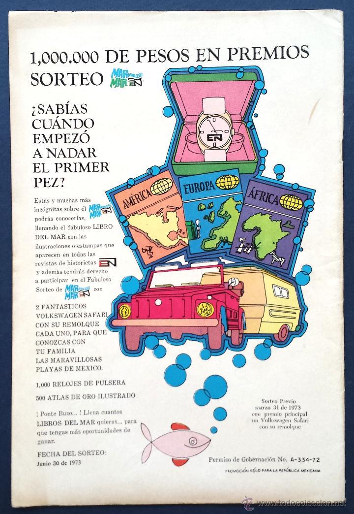 Tebeos: TOM Y JERRY nº 368 Revista Infantil Editorial Novaro 1972 Contraportada Daniel el Travieso Años 70 - Foto 3 - 54008078