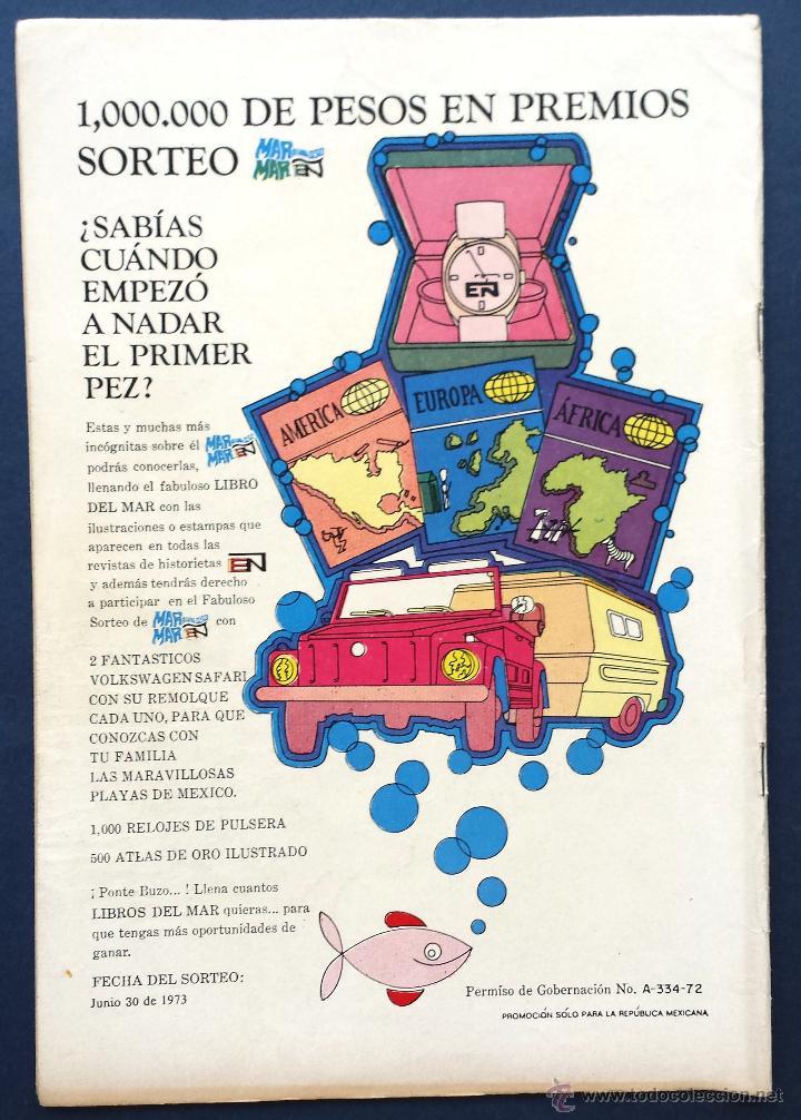 Tebeos: TOM Y JERRY nº 373 Revista Infantil Editorial Novaro 1973 Contraportada pequeña Lulu Años 70 - Foto 3 - 54008109