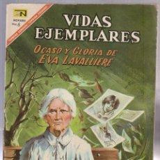 Tebeos: VIDAS EJEMPLARES Nº252. OCASO Y GLORIA DE EVA LAVALLIERE. Lote 54223047
