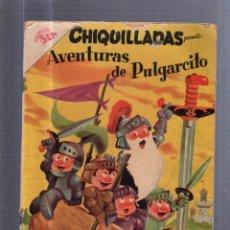 Tebeos: TEBEO CHIQUILLADAS. AVENTURAS DE PULGARCITO. Nº 66. . Lote 54645690
